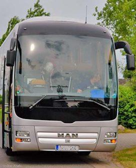 www.kompressionsstruempfe-online.de - Auf langen Busfahrten können Reisestrümpfe helfen