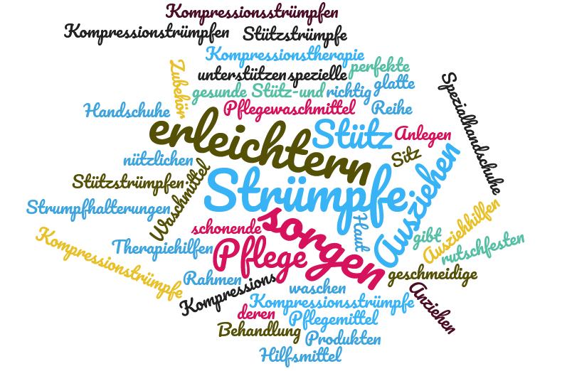 Zubehör für Stütz- und Kompressionsstrümpfe - www.kompressionsstruempfe-online.de